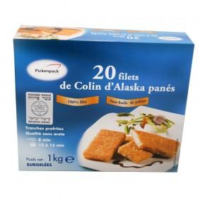 20 FILETS COLIN D'ALASKA...