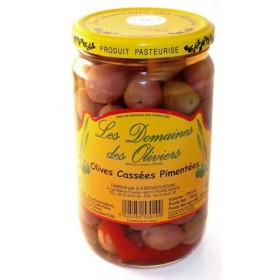 OLIVES CASSEES PIMENTEES...