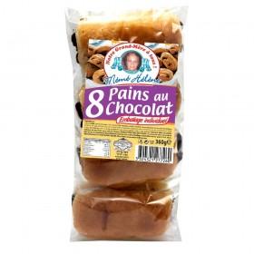 8 PAIN CHOCOLAT SACHET...