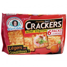 CREAM CRACKERS GOUT OIGNON...