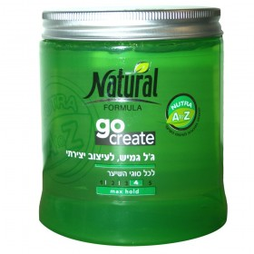 GEL NATURAL FORMULA GO...