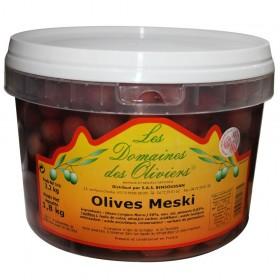 OLIVES MESKI SEAU 1,8KG X4...