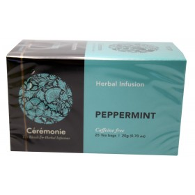 THE PEPPERMINT MENTHE...