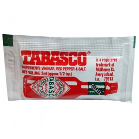 TABASCO PEPPER SAUCE 3ML...