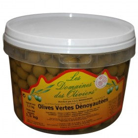 OLIVES VERTES DENOYAUTEES...