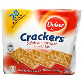CRACKERS ITALIEN SALE 500GR...