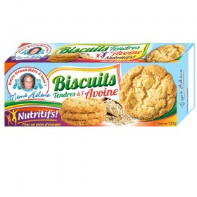 BISCUITS TENDRE A L'AVOINE...