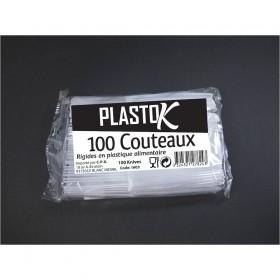 COUTEAUX PLASTIQUES 100P...