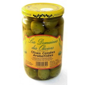 OLIVES CASSEES AROMATISEES...