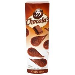 36 CHOCOLA'S NOIR 125GR X12...