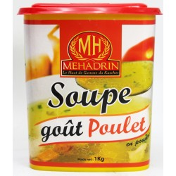 SOUPE GOUT DE POULET 1KG...