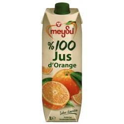 100% PUR JUS D'ORANGE 1L...