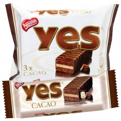 3 YES CACAO SACHET 96GR X12...