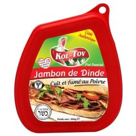 JAMBON DE DINDE AU POIVRE...