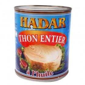 HADAR THON A L'HUILE 800GR...